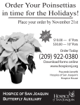 Order your Poinsettias in time for the Holidays!