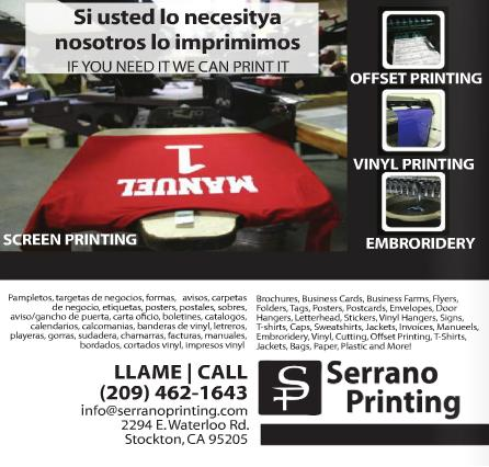 Printing in stockton ca