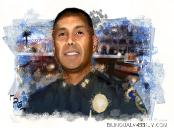 Rick Salcedo Police Deparment Deputy Chief Stockton Police