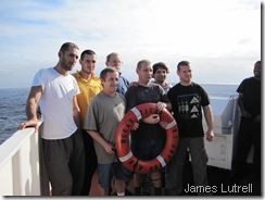 crew we saved....long story(google ocean titan for entire story)